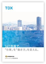 TDXのパンフレット